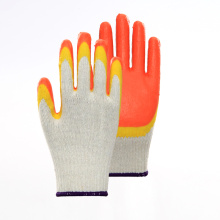 Colorful Double Layer Latex Breathable Safety Gloves