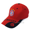 6 panel embroidery cotton sports cap soccer hat