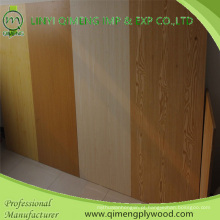 Madeira compensada da mobília da cara da melamina da densidade de Linyi Qimeng