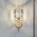 Top sales modern gold crystal hotel wall lamp