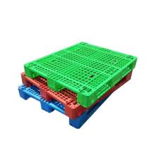 KL virgin plastic pallet logistics Net plastic tray use to Forklift plastic pallet, virgin PE pallet/