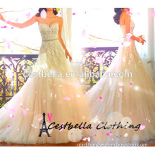 2016 modern Brial Wedding Dress Party Evening Dress with High Quality