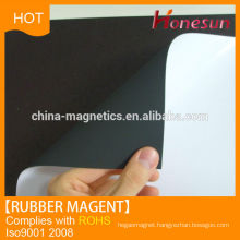 Customized plastic magnetic rubber sheets