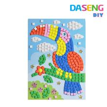 Sticky mosaic preety cards