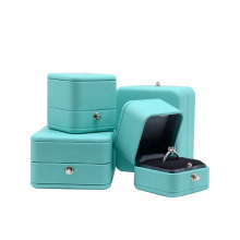 Hot Hight Quality leather Jewelry Set Box for Necklace Pendant Ring Earring Bangle Necklace box