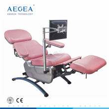 AG-XD104 professional one motor controls foldable hospital blood collection chairs