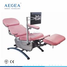 Компания AG-XD104 роскошный электрический мотор для регулировки стула по сбору крови