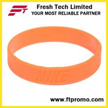 Sports Silicone Pulseira OEM Silicone Wristband