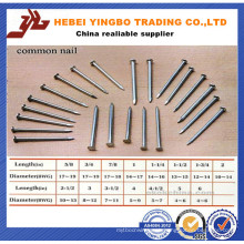 Fastener-008 1-6 Inch Length Common Nails / Wire Nails