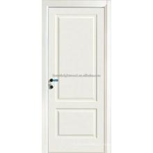 Swing Primd blanco tallado MDF puerta de madera, puertas de Interior