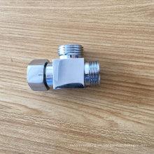 Adaptador de conexión de manguera de ducha de tubo cuadrado de baño