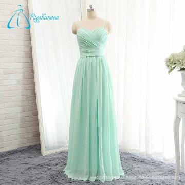 Beautiful New Fashion Style Chiffon Pleat Long Bridesmaid Dress