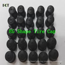 Válvulas del neumático de la rueda del coche universal ABS / PP Válvula del neumático de la válvula del neumático de la bicicleta del automóvil del automóvil Tapa del polvo Válvula del neumático de la rueda Tapas del vástago Kxt-Eg03