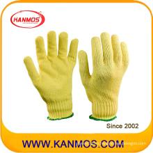 Anti-Corte 13gauges Kevlar tejido de trabajo Guantes de seguridad industrial (63001KV)