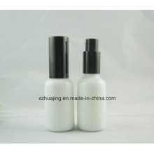 30ml Empty White Essential Oil Glass Pump Sprayer Bottle