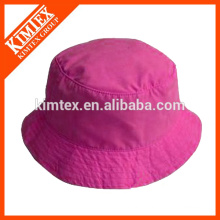 Wholesale blank bucket hat, plain polyester bucket hat