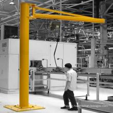 outdoor using mounted pedestal jib crane