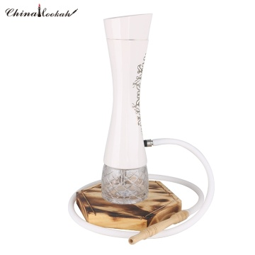 Ceramic with stainless steel hookah shisha