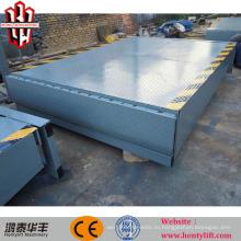погрузка гидравлического контейнера механическая стыковочная платформа