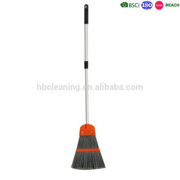 long bristle plastic broom, cheap brooms for leaves