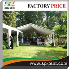 assembly Wedding canopy marquee event tent 20x45m for 600 people seated in garden banquet