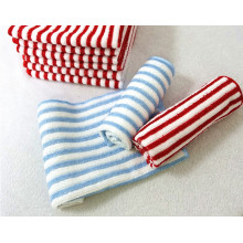 Microfiber Warp Stripe Fabric for Kitchen Cleaning
