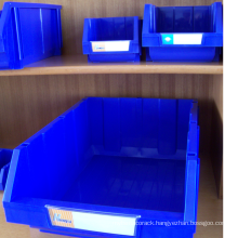 Combinative plastic bin