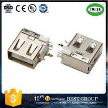 Micro conector tipo DIP USB Mini receptáculo USB Conector inversor USB Repuesto automático Conector mini USB Cable HDMI Partes de la motocicleta (FBELE)