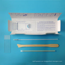 Kit médico de frotis ginecológico