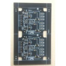 2 layer 1.6mm 1OZ black solder ocean controller PCB