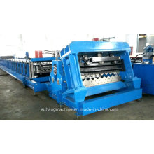 Automatic 2.5-4mm Thickness Steel Storage Silo Roll Forming Machine
