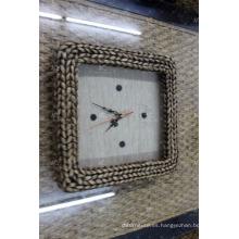 El más nuevo diseño del reloj de pared del jacinto de agua