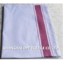 Atacado de alta qualidade toalha de cozinha 100% algodão Stripe (DPH7711)