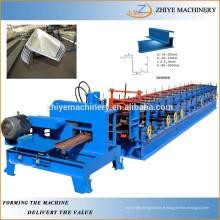 Machine de formage de rouleau à froid Purline de Z Section