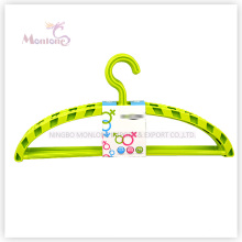 PP Plastic Arc-Shaped Clothes Hanger Set of 4 (37.5*17.5cm)