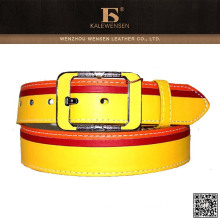 Wenzhou unique design cheap ladies fashion pu belts