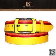 Wenzhou design exclusivo barato senhoras moda pu cintos