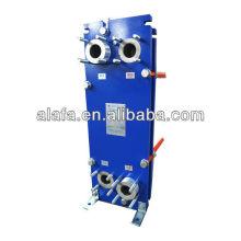 Échangeur à plaques pour huile modèle A2B à échangeur de chaleur de l'eau