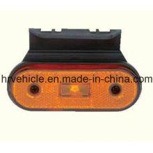Светодиодная боковая габаритная овальная форма