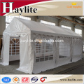 Carpa china de 16x22 con techo de marquesina y techo