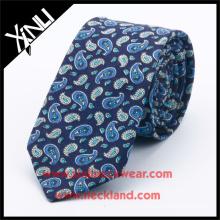 Azo Free Men Custom Printed Silk Western Necktie