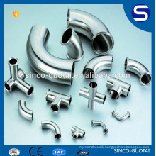304 316 stainless steel sanitary tri clamp pipe fitting