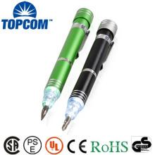 Nouveau style multicolore aliuminum Led stylo led led flashilight