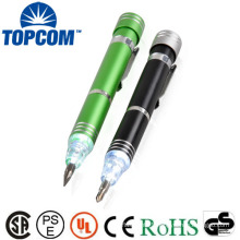 New Style multicolor aliuminum Led pen light led flashilight