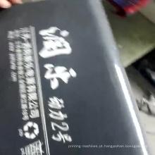 impressora cilíndrica da tela da cubeta plástica