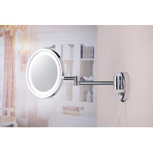 Single Side LED Wall Magnifying Illuminated Mirror