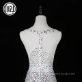 Wholesale dernières robes uniques de mariage bling cristal pour la mariée