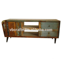 Recycle Wood Tv Unit
