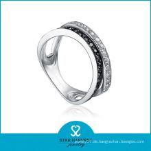 Elegantes Silber Geschenk Ring Hersteller (SH-R0077)