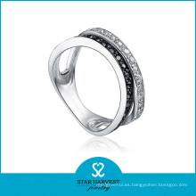 Fabricante de anillo de regalo de plata elegante (SH-R0077)